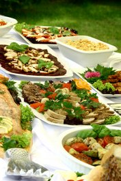 catering, finger food, buffet, party food,
